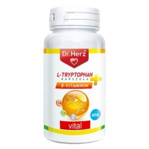 Dr. Herz L-Tryptophan+B-vitaminok kapszula - 60db