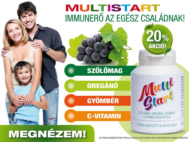 Multi Start immunerősítő - az egész család részére!