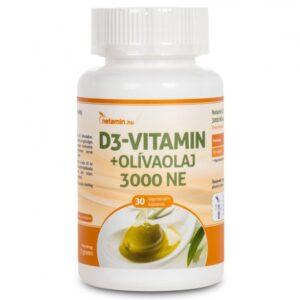 netamin-d3-vitaminolivaolaj-3000-ne-tabletta-30db