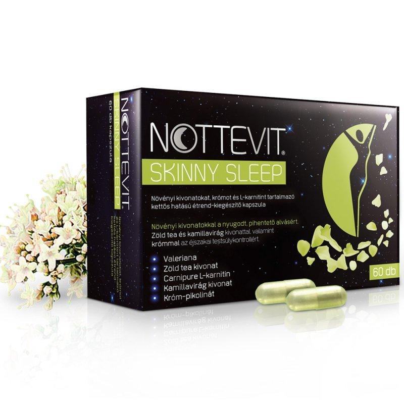 Nottevit Skinny Sleep kapszula - 60db