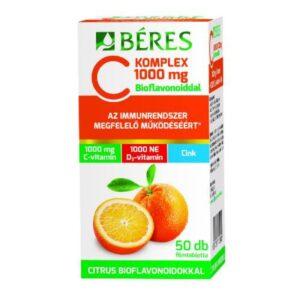 beres-c-komplex-1000-mg-filmtabletta-c-es-d3-vitamin-cink-50db