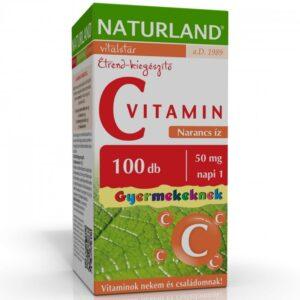naturland-c-vitamin-50mg-narancs-izu-ragotabletta-gyerek-100db