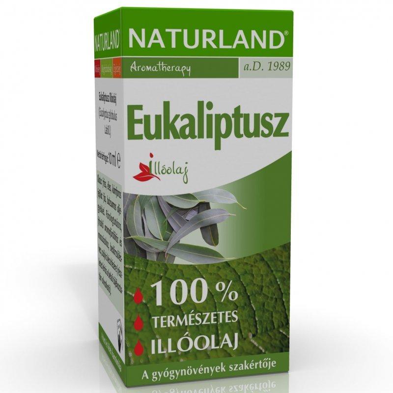 Naturland Eukaliptusz illóolaj - 10ml