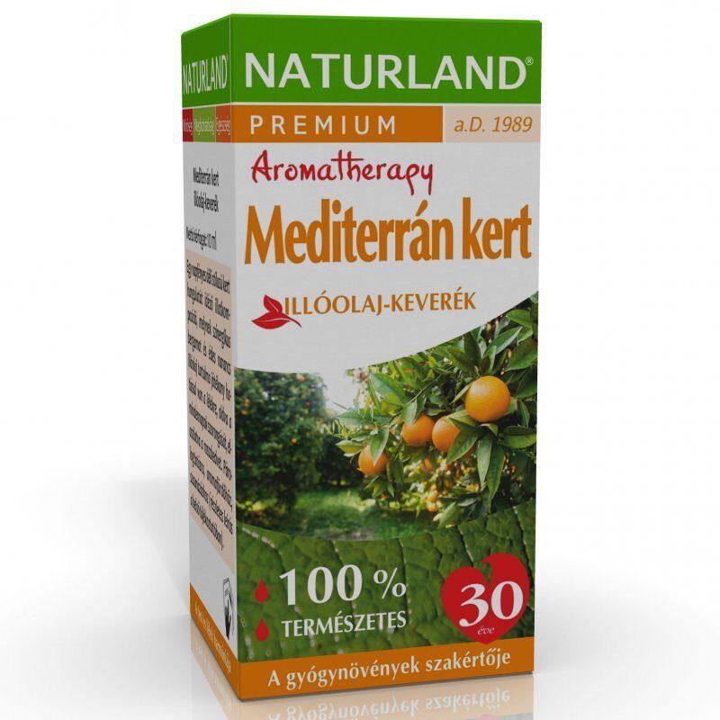 Naturland Mediterrán kert illóolaj - 10ml