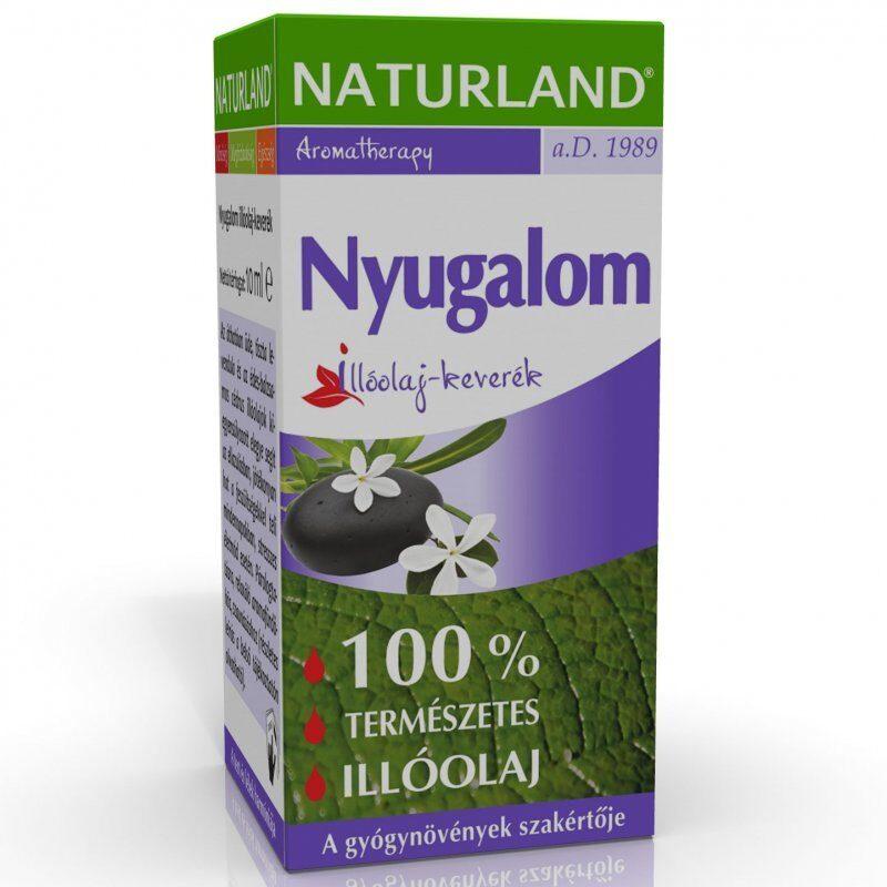 Naturland Nyugalom illóolaj-keverék - 10ml