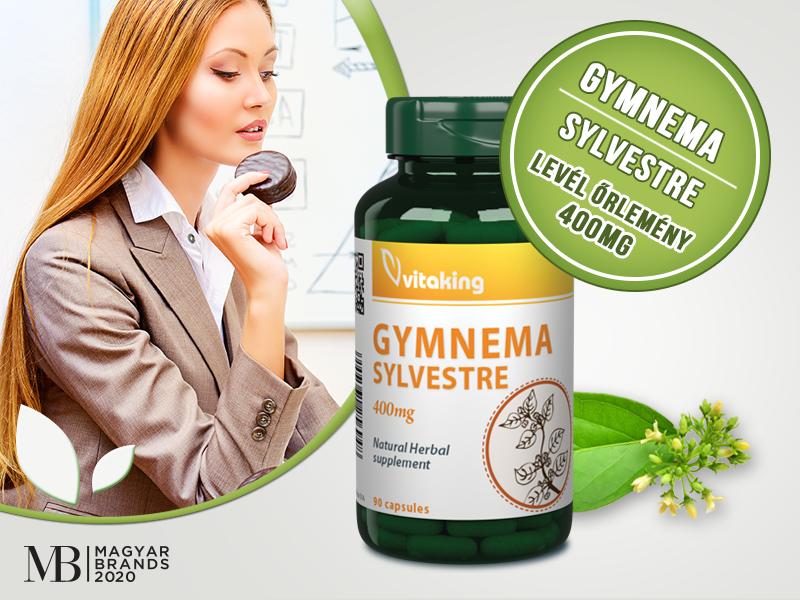 Csökkentse az édességek utáni sóvárgást a Vitaking Gymnema Sylvestre kapszula segítségével!