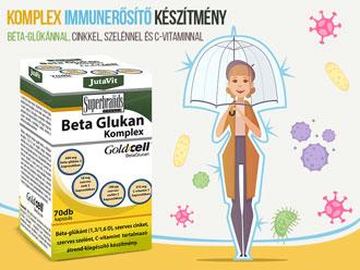Jutavit Béta Glukan (Béta-Glükán) komplex