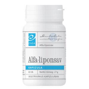 Casa Alfa-Liponsav kapszula - 60db