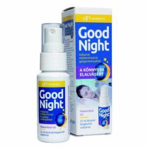 InnoPharm Good Night szájspray melatoninnal - 25ml