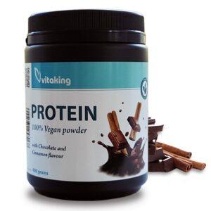 Vitaking protein csoki fahej novenyi feherje italpor - 400g