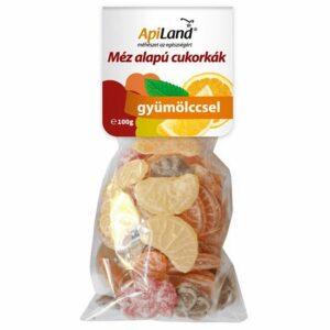 apiland-mezes-gyumolcsos-cukorkak-100g