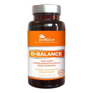 Bestnature D-Balance kapszula - 90db