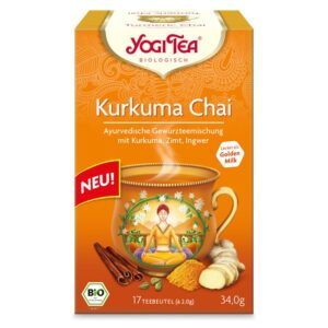 Yogi Bio Kurkuma Chai tea - 17 filter