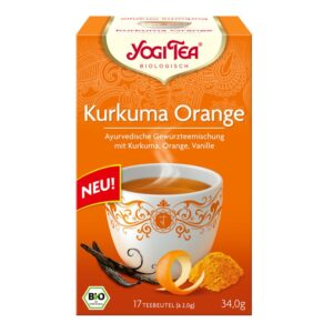 Yogi Bio Kurkuma narancs tea - 17 filter