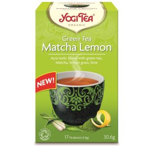Yogi Zöld tea matcha-citrom tea - 17 filter