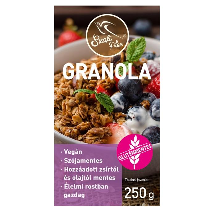 Szafi Free Gluténmentes granola - 250g