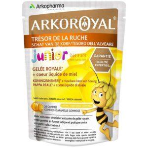 Arkoroyal Bio méhpempőt és mézet tartalmazó gumicukor