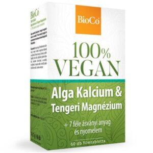 BioCo 100% VEGAN Alga Kalcium & Tengeri Magnézium filmtabletta - 60db