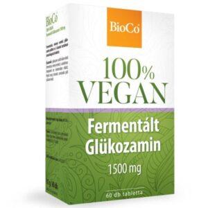 BioCo 100% VEGAN Fermentált Glükozamin 1500mg tabletta - 60db