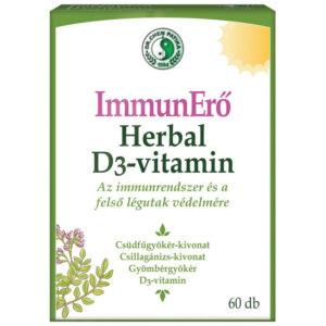 Dr. Chen ImmunErő Herbal D3-vitamin kapszula