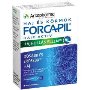Forcapil Hair Activ tabletta - 30db