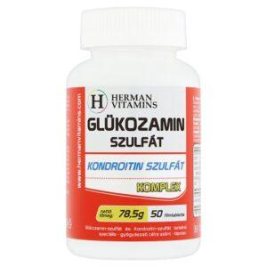 Herman Glükozamin - Kondoritin Szulfát Komplex filmtabletta - 50db