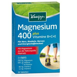 kneipp-magnesium-400-tabletta-30db