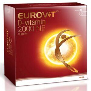 Eurovit D-vitamin 2000NE tabletta - 120db