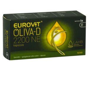 Eurovit Oliva-D 2200NE kapszula - 30db