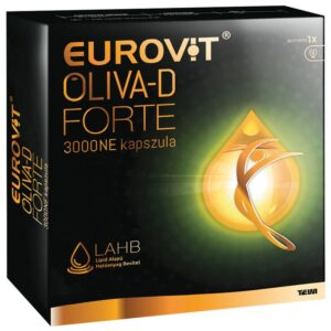 Eurovit Oliva-D Forte 3000NE kapszula - 60db