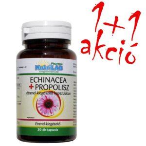 Nutrilab Echinacea + Propolisz kapszula 1+1 akció - 2x30db