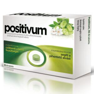 Positivum - citromfű- és komlótoboz kivonat tartalmú tabletta - 30db
