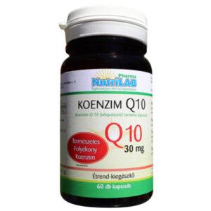 Nutrilab Koenzim Q10 kapszula - 60db