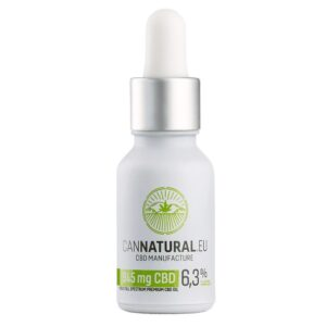 Cannatural.eu 945mg Full-spektrum CBD olaj 6,3% - 15ml