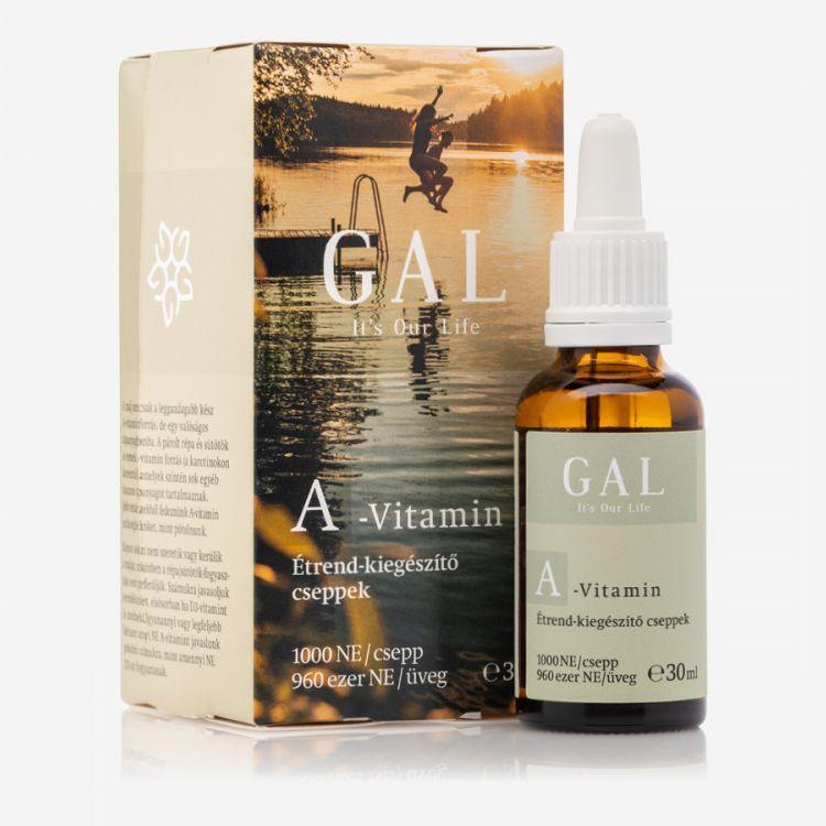 GAL A-vitamin 1000NE cseppek - 30ml