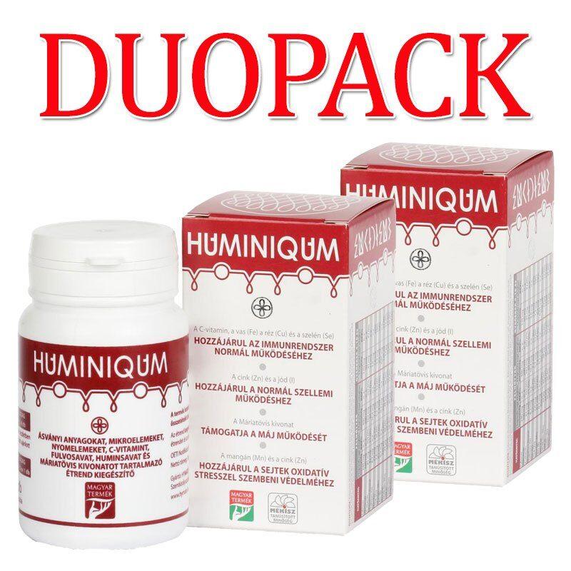 Huminiqum Huminsav alapú kapszula DUOPACK - 2x120db