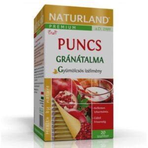 Naturland Prémium Puncsos gránátalma ízű teakeverék - 20 filter