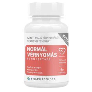 Pharmacoidea Normál vérnyomás fenntartása Extra kapszula - 60db
