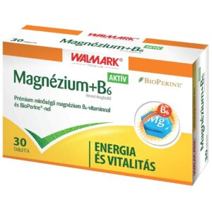 Walmark Magnézium+B6-vitamin tabletta - 30db