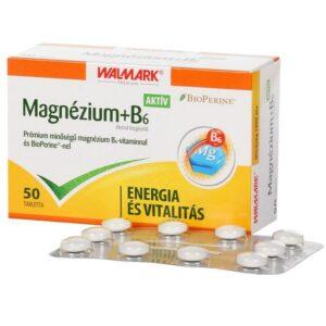 Walmark Magnézium+B6-vitamin tabletta - 50db