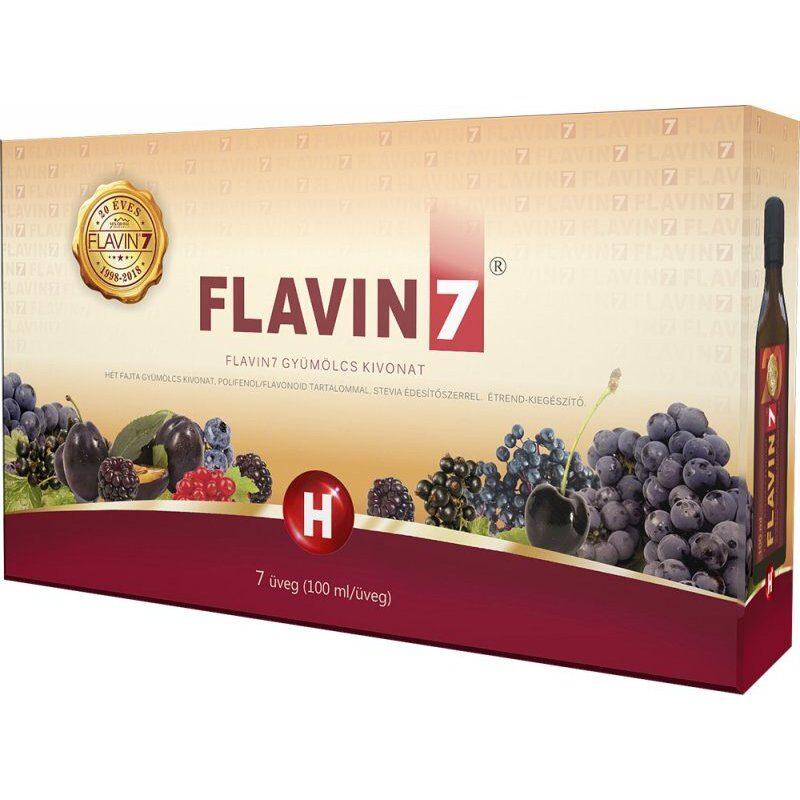 Flavin7 gyümölcslé kivonat - 7x100ml