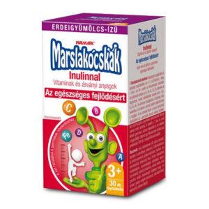 Walmark Marslakócskák Inulinnal (Prebiotikummal Erdei gyümölcs ízben) - 30db tabletta