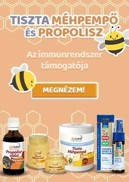 Apiland Tiszta méhpempő és Propolisz