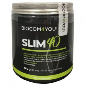 Biocom Slim 40 körte italpor - 360g