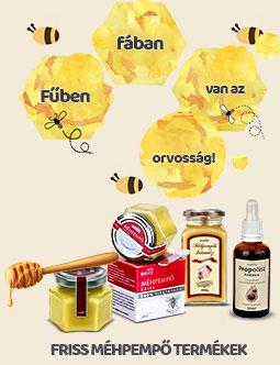 Dydex propolisz és méhpempő tartalmú készítmények