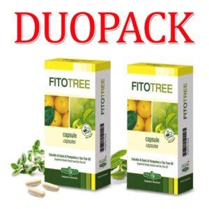 Erba Vita FitoTree grapefruit és teafa kapszula DUOPACK - 2x30db