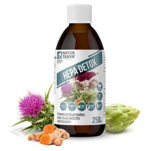 Natur Tanya Hepa Detox máj és emésztés támogató komplex ital - 250ml