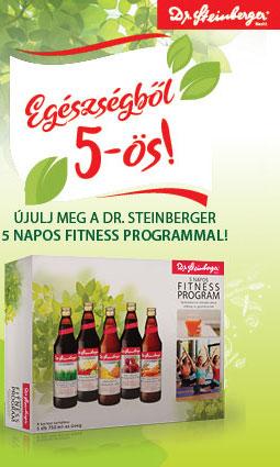 Dr. Steinberger 5 napos fitnessz program