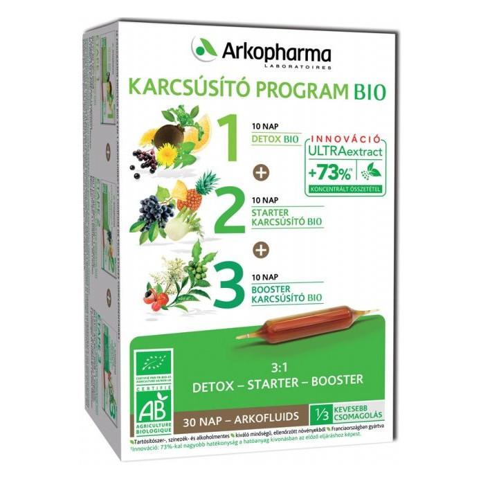 Arkocaps Arkofluids BIO Karcsúsító program - 3x10 ampulla