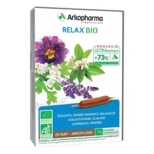 Arkocaps Arkofluids BIO Relax és alvás ampulla - 20db